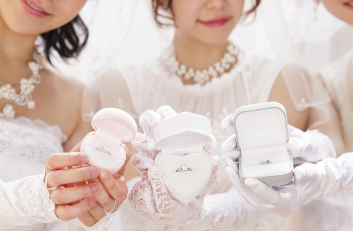 婚約指輪、結婚式にしていっていいの?ゲスト&花嫁の心得