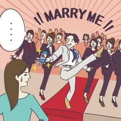 女性の7割がサプライズプロポーズを希望?理想のプロポーズとは